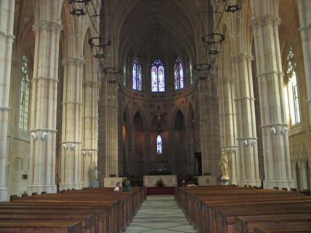 Abbey, Aisle, Arc, Arch, Architecture, Art, Artwork