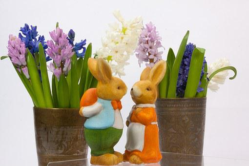 Easter Bunny, Easter, Hare, Bunny Couple