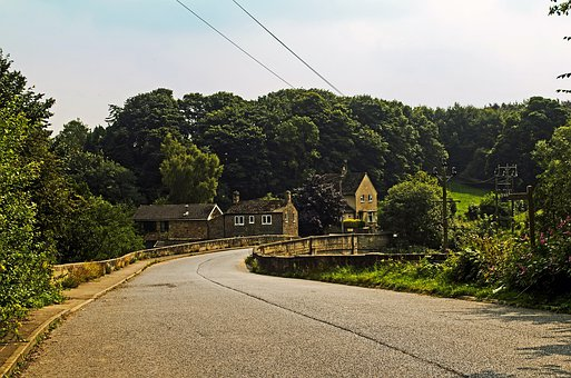 Road, Trip, Direction, North, Yorkshire, England