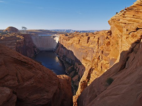 Glen Canyon, Power Plant, Glen Canyon Dam