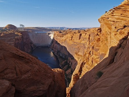 Glen Canyon, Power Plant, Glen Canyon Dam