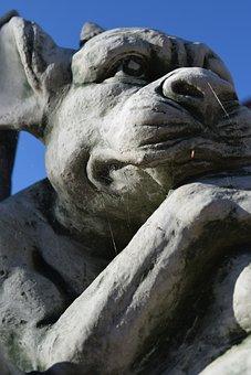 Gargoyle, Fig, Dragon, Statue, Mythical Creatures