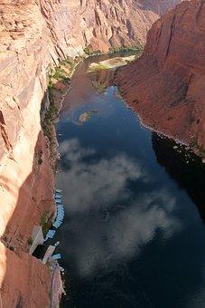 Colorado River, River, Water, Canyon, Glen Canyon, Page