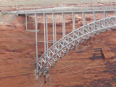 Glen Canyon Bridge, Glen Canyon, U S Highway 89