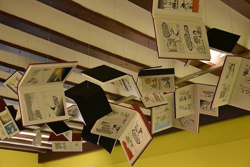 Books, Cervantes, House Of Cervantes, Alcala De Henares