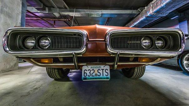 Dodge, Car, Vehicle, Vintage, Auto, Automobile, Bumper