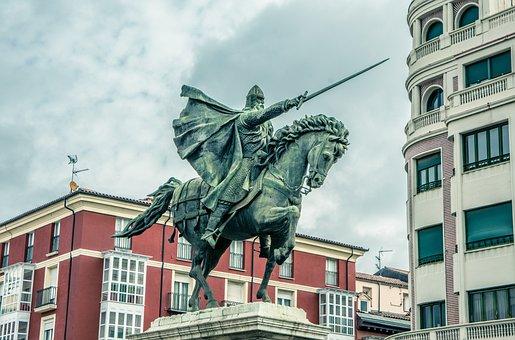 El Cid, El Mio Cid, Burgos, Cid, Mounted, Castile