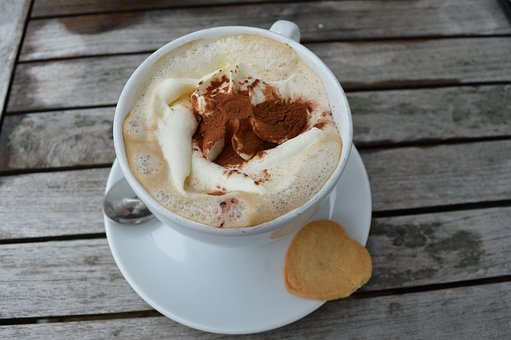 Coffee, Cookie, Cappuccino, Enjoy, Cocoa, Rest