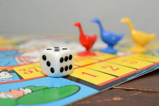 Goose Game, Dice, Board, Competition, Game, Board Game