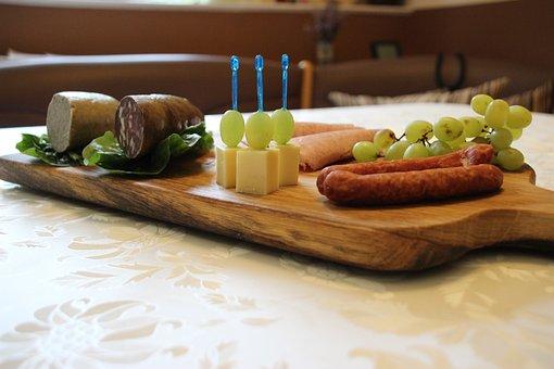 Breakfast, Sausage, Breakfast Board, Eu, Hunger, Food