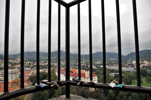 Děčín, Castle, Grid, Monument, Czech Republic