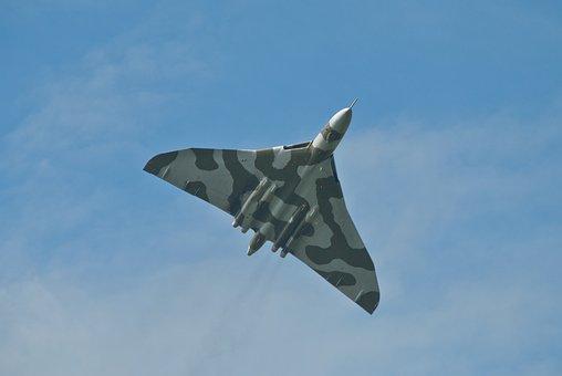 Raf, Vulcan, Bomber, Nuclear, Aircraft, British, Jet