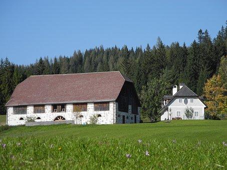 Farm, Meadow, Nature, Rural, Styria, Idyllic, Peaceful