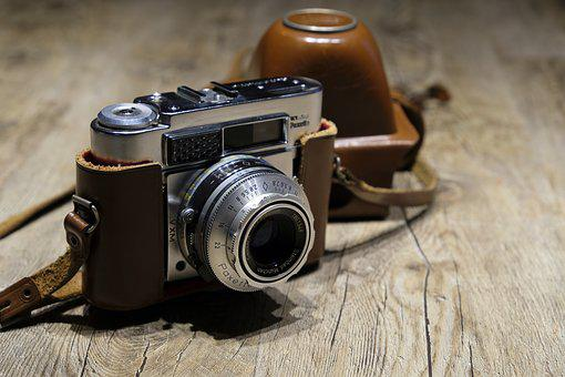 Camera, Nostalgia, Retro, Analog, Photography