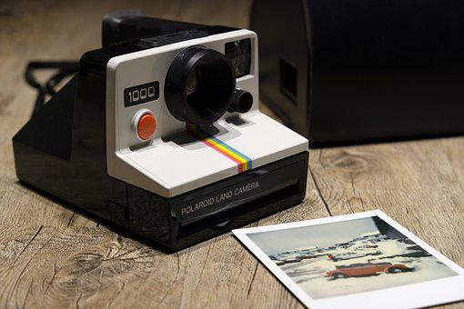 Camera, Polaroid, Photo, Nostalgia, Retro