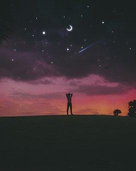 Night, Dawn, Sunset, Dusk, Twilight, Evening, Nature