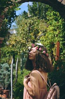 Flowers, Queen, Spring, Summer, Nature, White, Bouquet