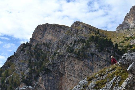Mountains, Girls, Hiking, Nature, Lifestyle, Woman