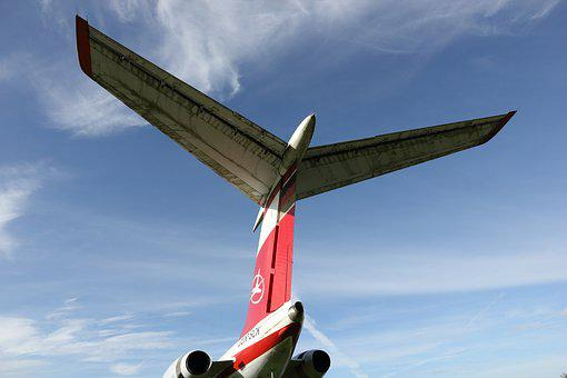 Germany, Hermeskeil, Museum, Airplane, Tupolev, Tu-134a