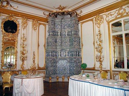 Russia, Amber Room, Beautiful, Tourism