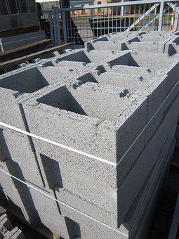 Concrete, Brick, Building Materials, Construction