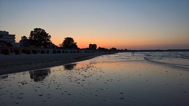 Sunset, East, Sea, Germany