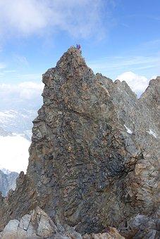 Piz Bernina, Engadin, Graubünden, High Alps, Mountains