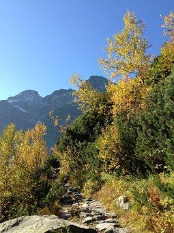 Tatry, Mountains, Autumn, The High Tatras, Landscape