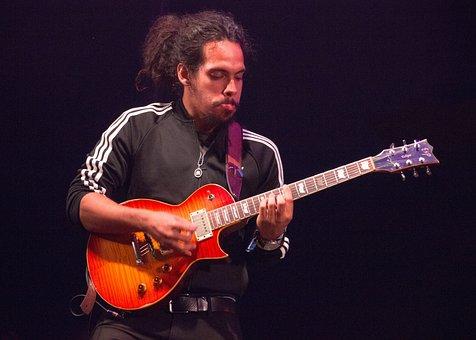 Music, Reggae, Rasta, Guitarist, Guitar, Instrument