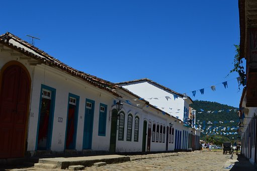 Paraty, Rj, Mar, Litoral, The Brazilian Coast, City