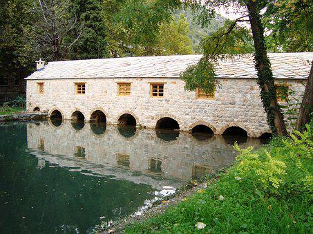 River, Mill, Heritage, Rural