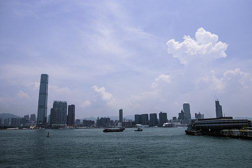 China, Hong Kong, Victoria Harbour, Port, The Scenery