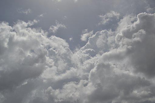 Sky, Clouds, Light, Blue Sky, White Clouds, Sun, White