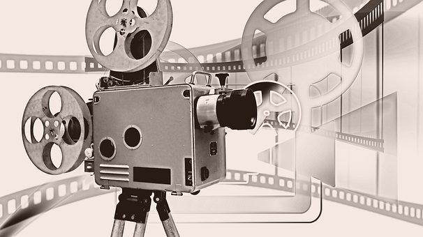 Camera, Film, Demonstration, Projector, Movie Projector