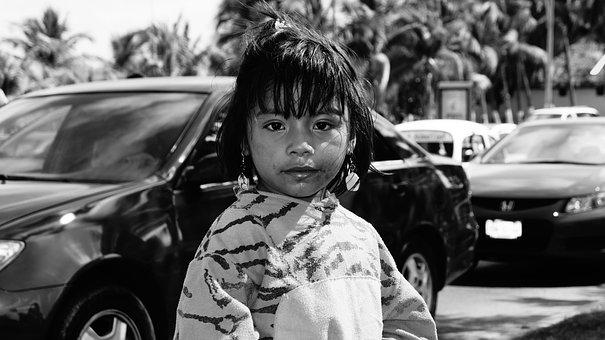 Portrait, Young, Caucasian, Natural, People