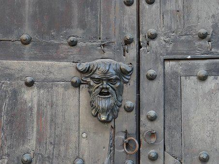 Door, Detail, Architecture, Artistic