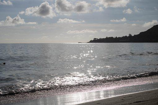Beach, Reflection, Eventide, Silver, Salgado, Sand, Sol