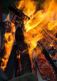 Fire, Campfire, Wood, Bonfire, Flame, Hot, Heat, Burn