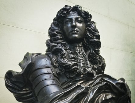 Louis Xiv, Bust, Statue, France, Historical, King