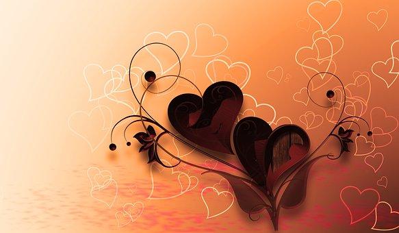 Heart, Love, Background, Valentine's Day, Romance