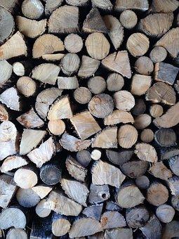 Wood, Firewood, Nature, Wooden, Tree, Log, Brown, Cut