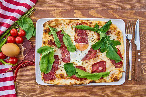 Pizza, Dough, Product Photo, Food, Photography