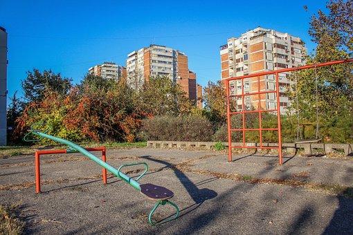 City Park, Park, City, Building, Urban, Town, Sky