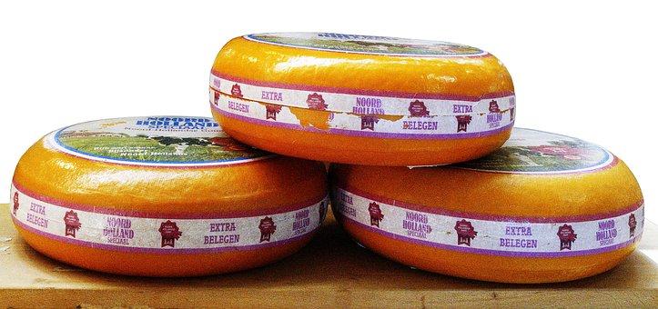 Cheese Cheese Loaf, Cheese Wheel, Whole Cheese, Gouda