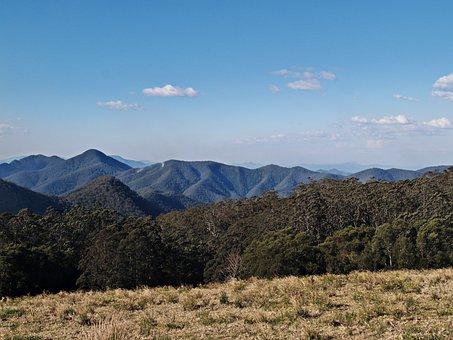 Panorama, Mountains, View, Wilderness, Alone, Smoke