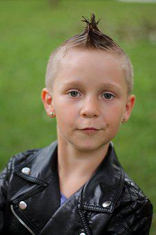 Punk, Iroquois, Hairstyle, Human, Hair, Style, Young
