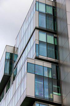 Office Block, Building, Office, Business, Architecture