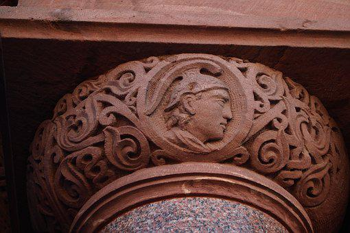 Architecture, Carving, Stone, Old, Carved, Design