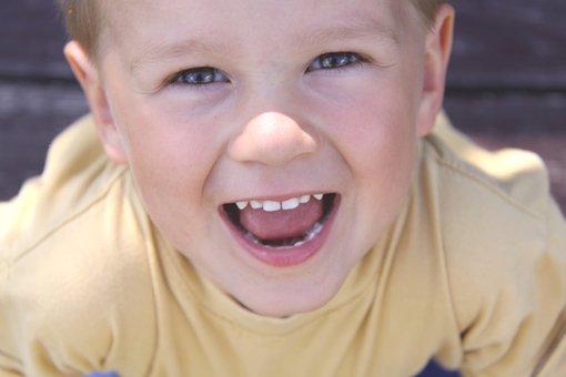 Child, Joy, Fun, Poland, Portrait, A Smile, Family