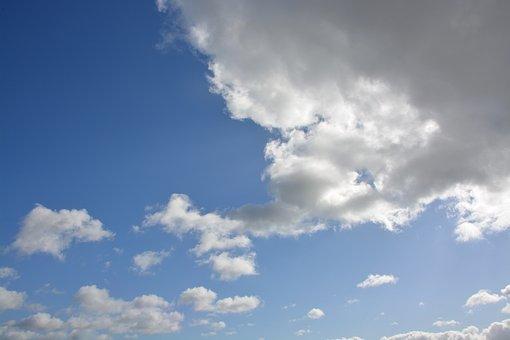 Clouds, White Clouds, Grey Clouds, Cumulus, White Cloud